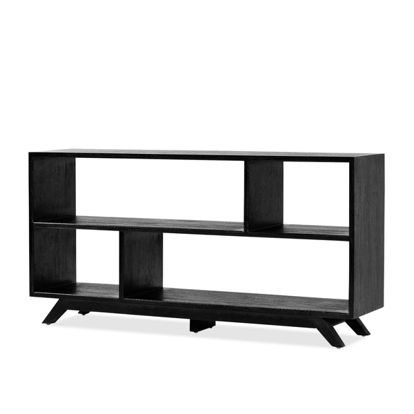 Avoca Bookcase — Black - Empire Homewares