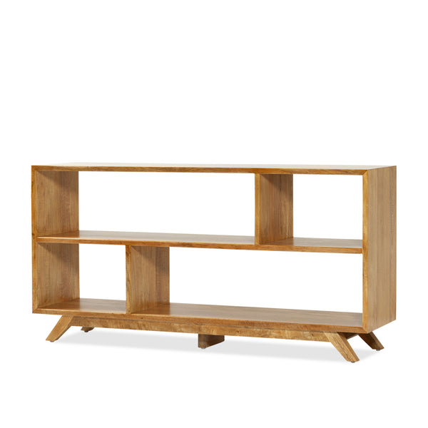 Avoca Bookcase — Natural - Empire Homewares