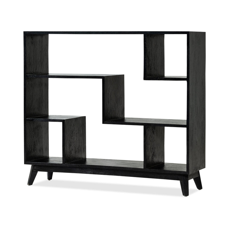 DJ Large Bookcase — Black - Empire Homewares