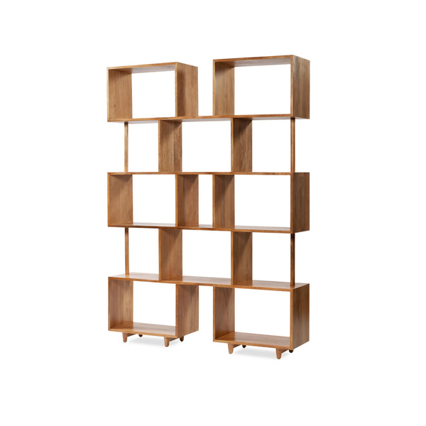 Morocco Bookcase — Natural - Empire Homewares