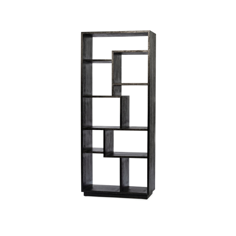 Tya Small Bookcase — Black - Empire Homewares