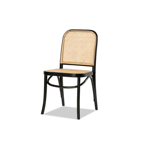 Birch Bentwood Chair — Black - Empire Homewares