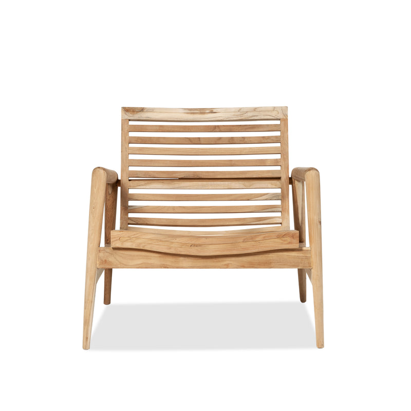 Teak Metro Chair — Raw - Empire Homewares