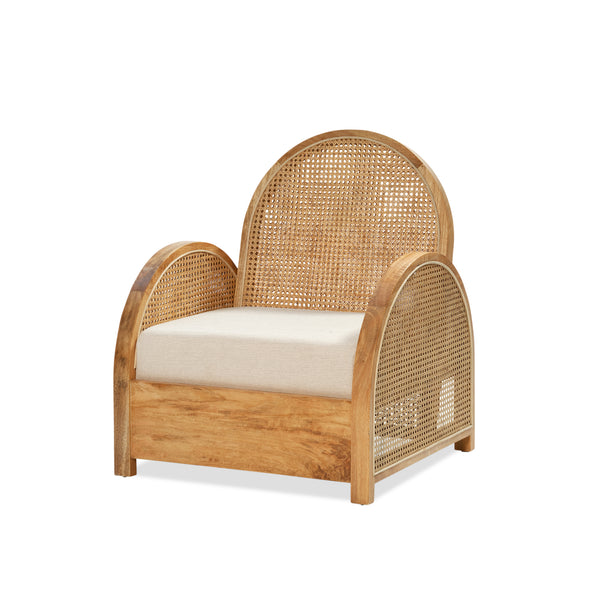 Pia Rattan Chair — Natural/Sand - Empire Homewares