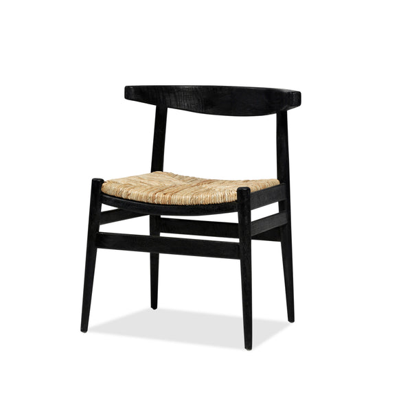 Tanduk Chair — Black/Rattan - Empire Homewares