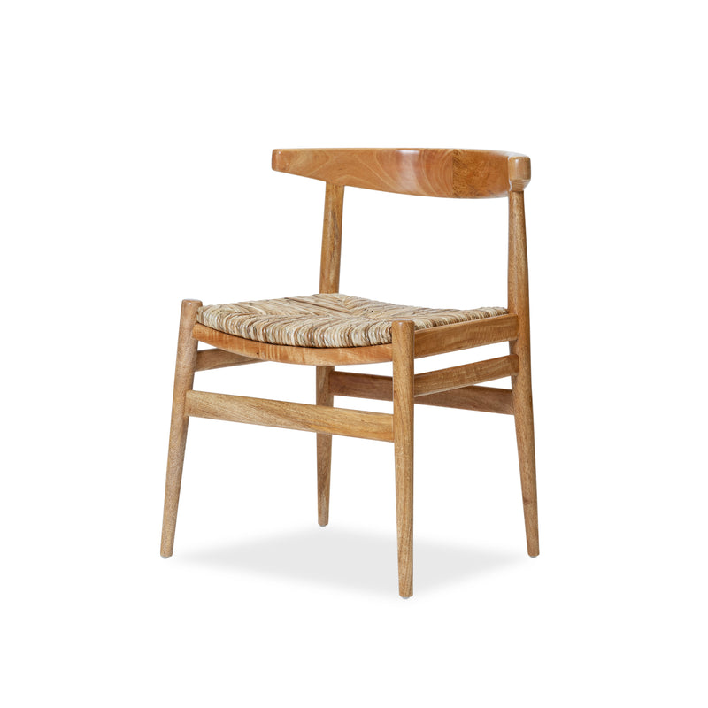 Tanduk Chair — Natural/Rush - Empire Homewares