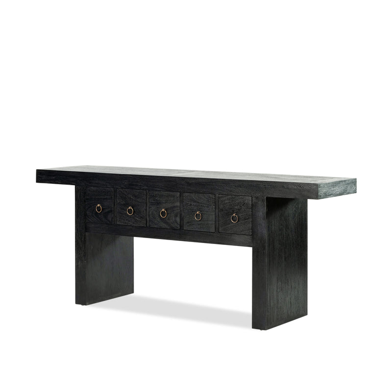 Shanghai Console — Black - Empire Homewares