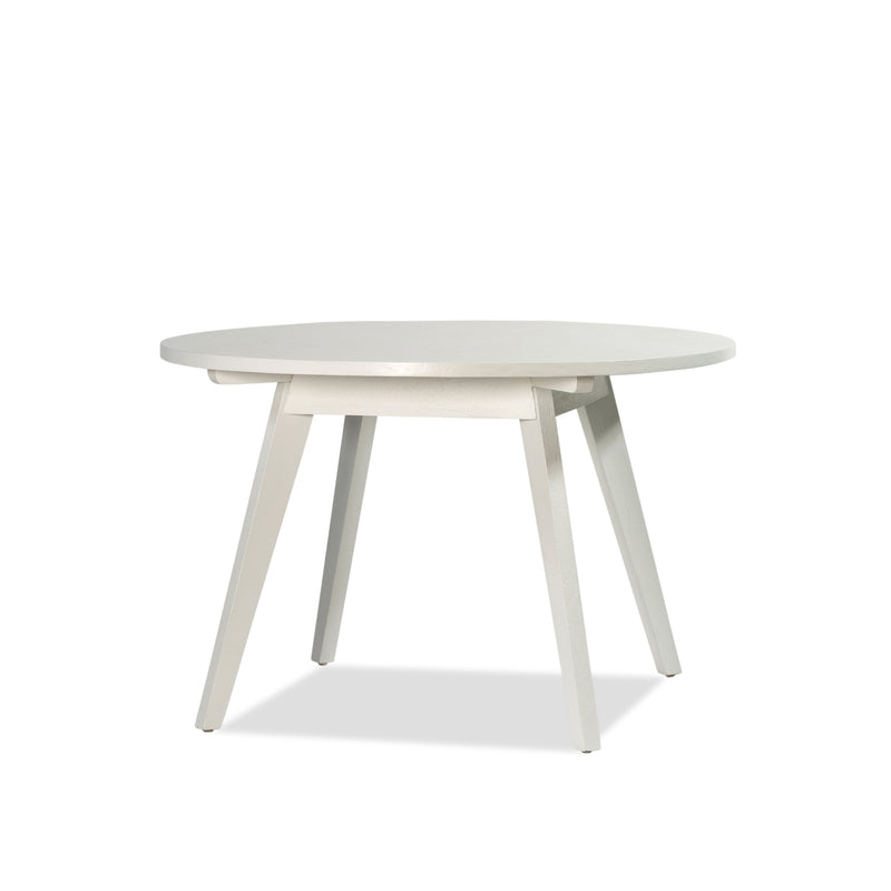 Giselle Round Dining Table — White - Empire Homewares