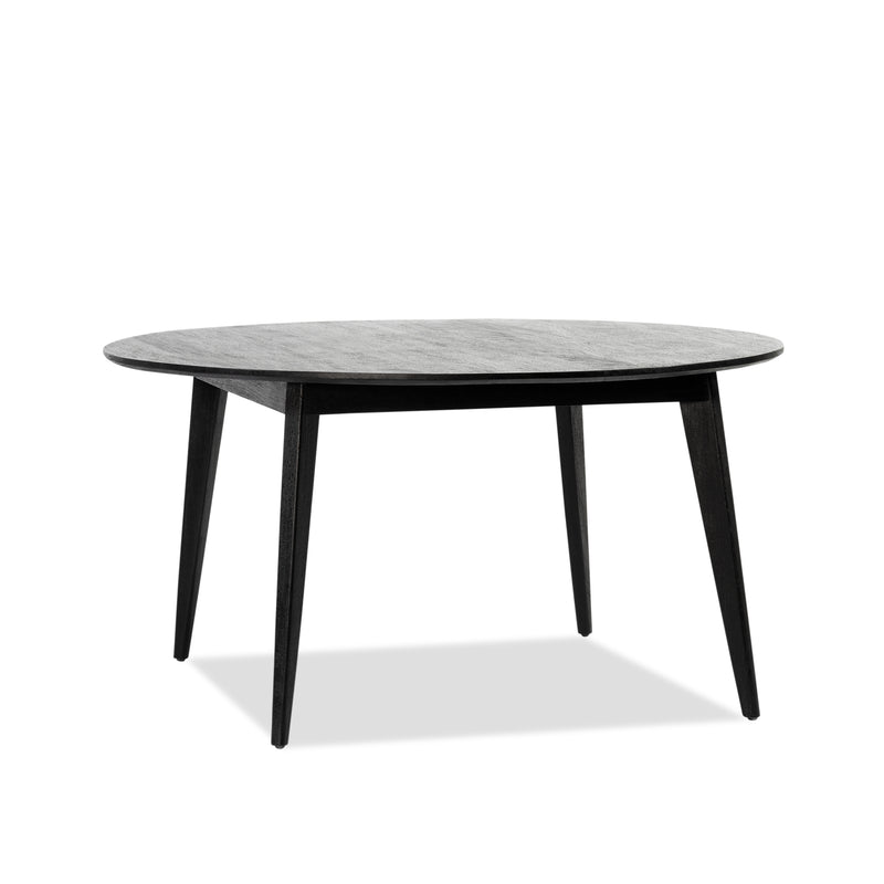 Marilyn Round Dining Table — Black - Empire Homewares