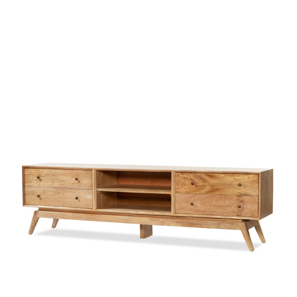 Sari Entertainment Unit — Natural - Empire Homewares
