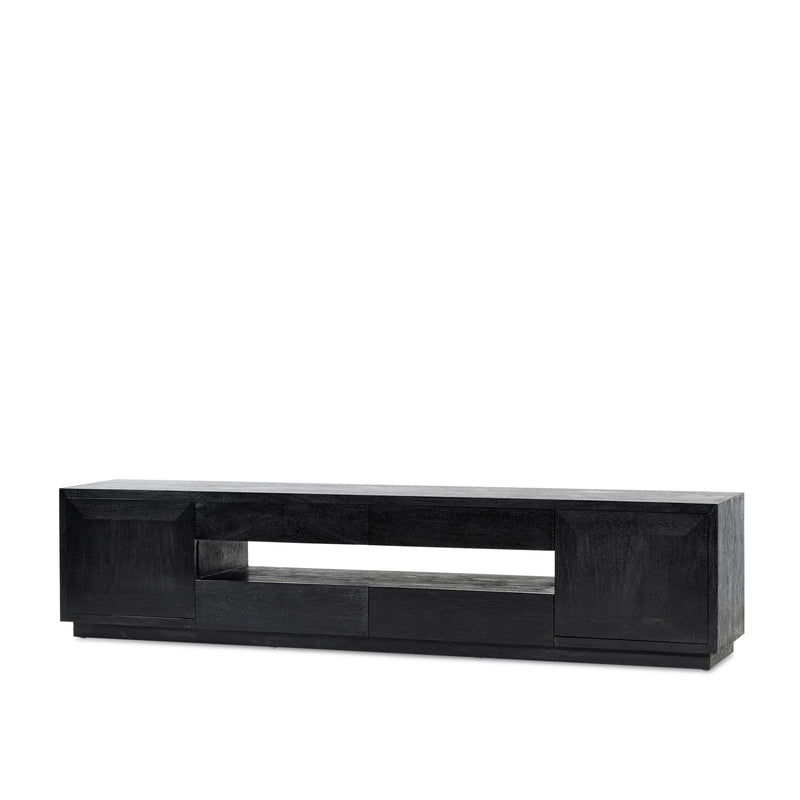 Villa Entertainment Unit — Black - Empire Homewares