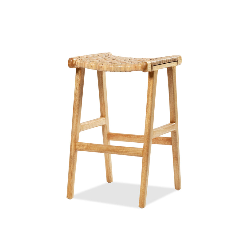 Casa Stool — Natural/Rattan - Empire Homewares