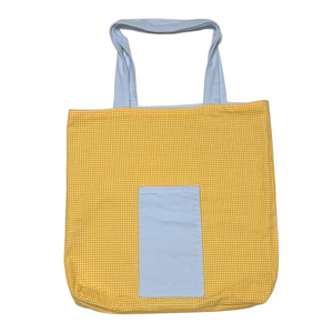 Tote Bag Mamie du Sud - Upcyclé - 100% coton et Made in France