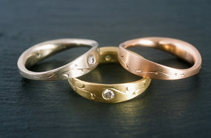 Engraved Stacking Rings