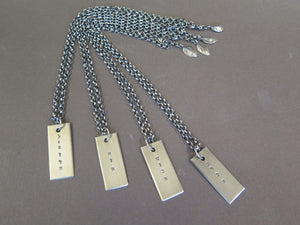 Bat Mitzvah pendants