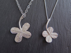 """A Little Luck"" julep clover necklace -small pendant"