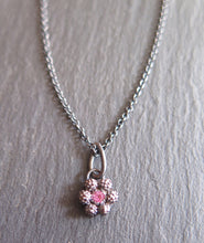 Load image into Gallery viewer, Waxflower Pink Sapphire Pendant