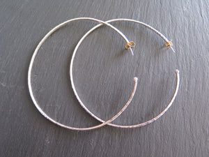 Large Forged Thick Berry Hoops