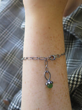 Load image into Gallery viewer, Good Luck Clover Charm Bracelet