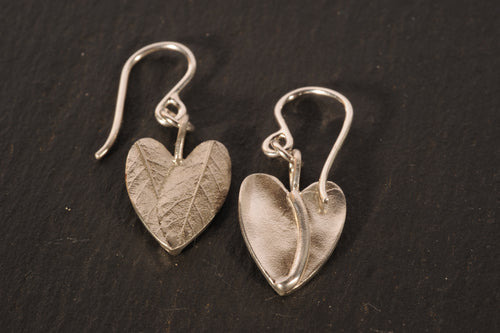 tiny julep heart earrings