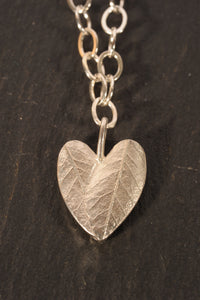 tiny julep heart necklace