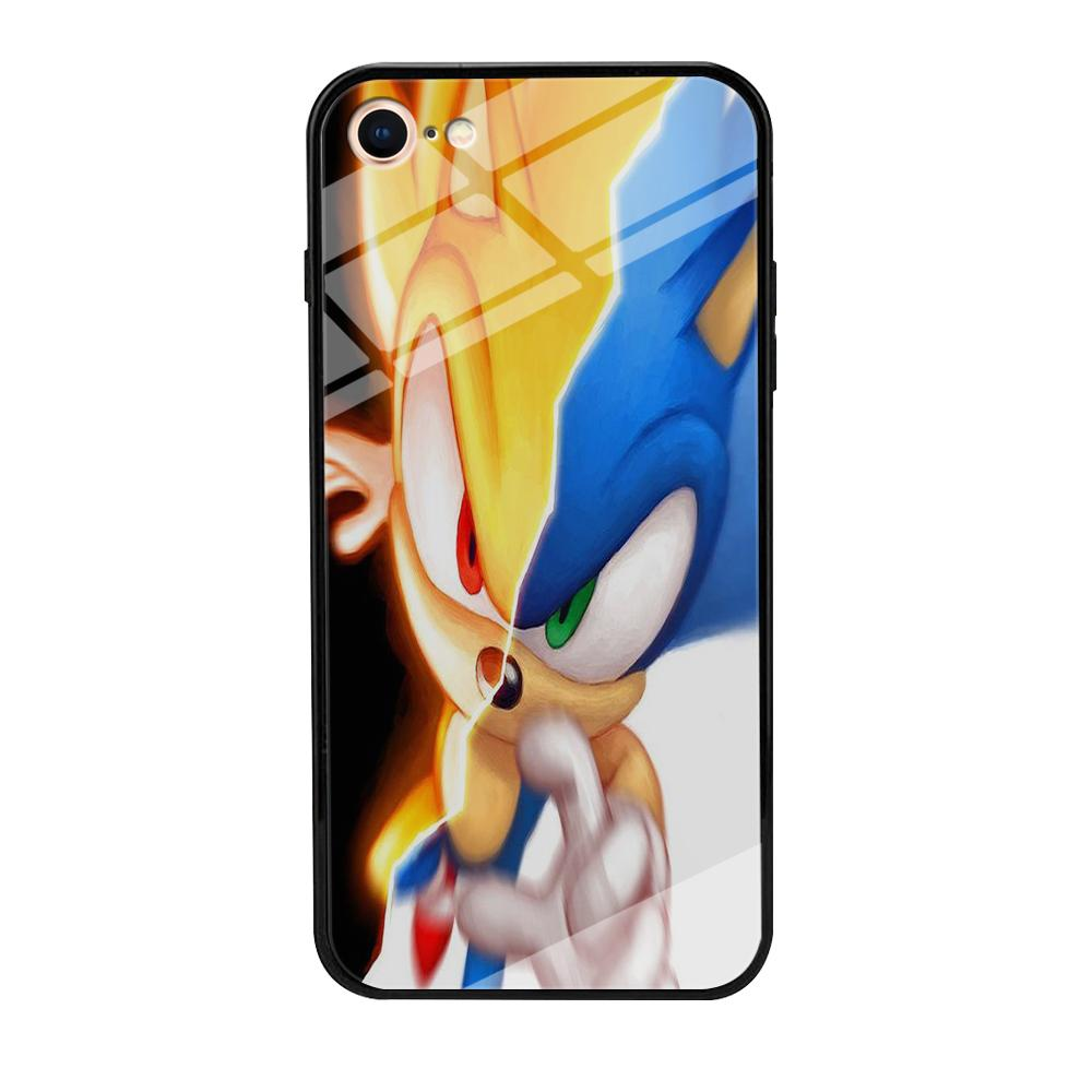 Sonic Zoom Two Face Iphone 7 Case Debreon
