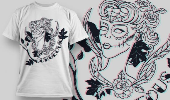 Gorgeous T-Shirt - Omega Design