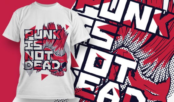 Punk Is Not Dead - T-Shirt - Shirto.nl