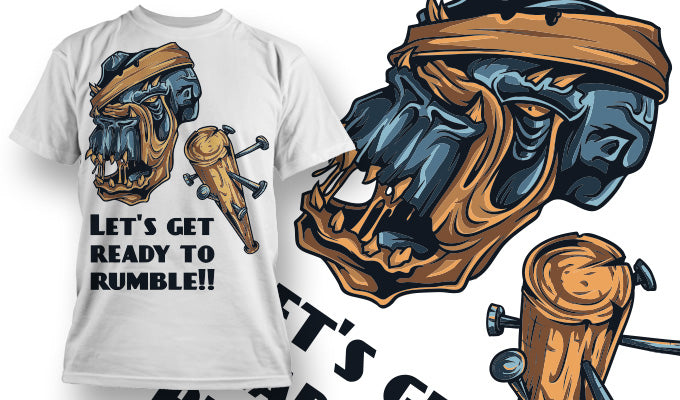 Ready To Rumble T-Shirt - Omega Design
