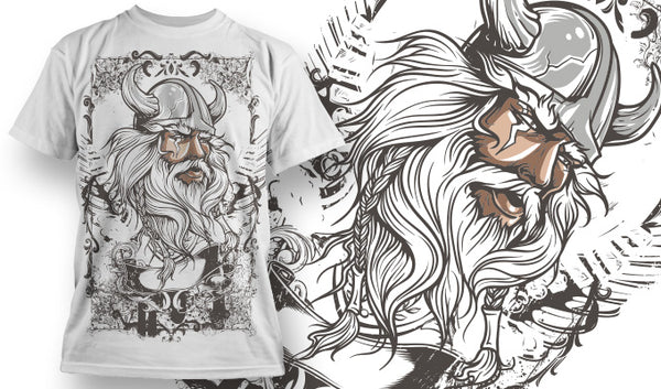 True Viking T-Shirt - Omega Design