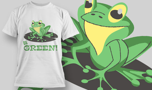 Be Green - T-Shirt - Shirto.nl