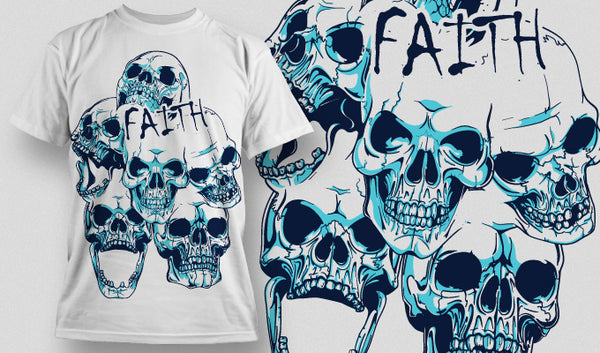Faith T-Shirt - Omega Design