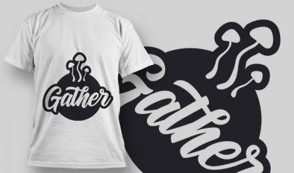 Gather - T-Shirt - Shirto.nl
