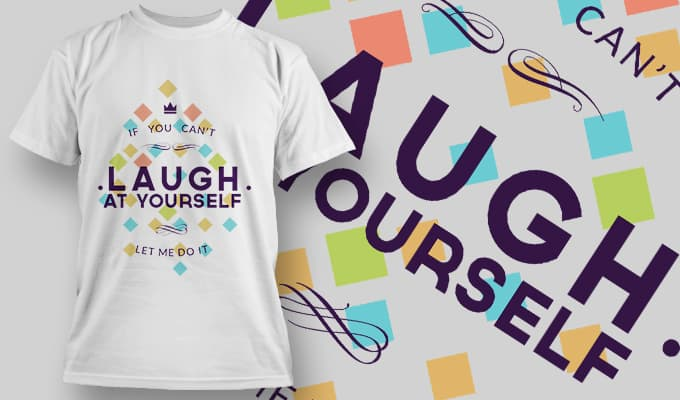 If you can't laugh at yourself Let Me Do It - T-Shirt - Shirto.nl