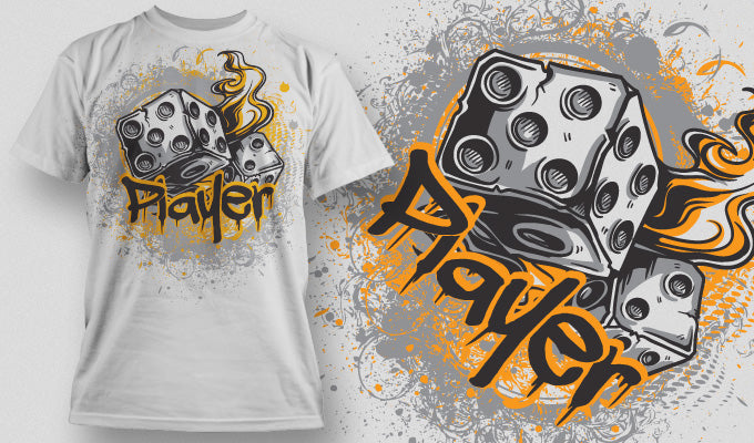 Player - T-Shirt - Shirto.nl