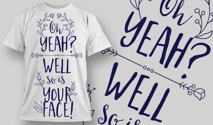 So is your face - T-Shirt - Shirto.nl