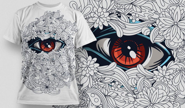 Allesziend T-Shirt - Omega Design