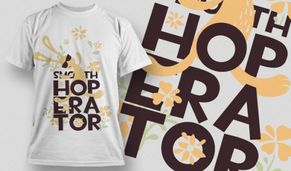 Smooth Hoperator T-Shirt - Omega Design
