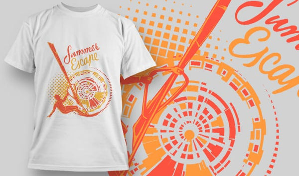 Summer Escape T-Shirt - Omega Design