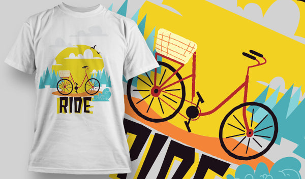 Ride T-Shirt - Omega Design