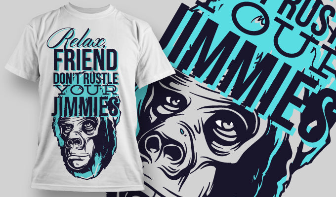 Don't trust your Jimmies T-Shirt - Omega Design