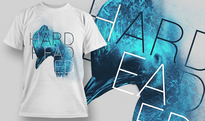 Hard headed - T-Shirt - Shirto.nl