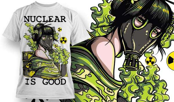 Nuclear Is Good T-Shirt - Omega Design