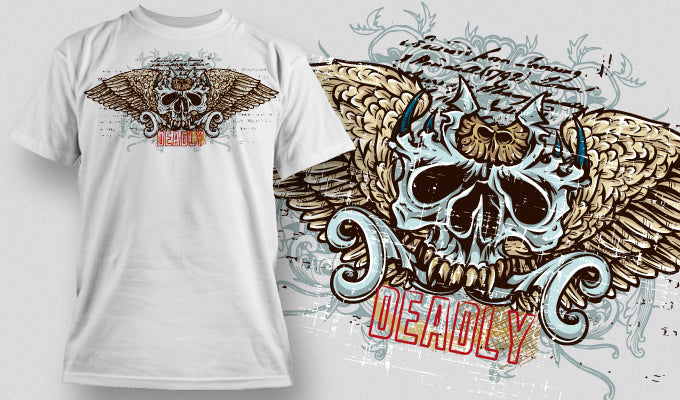 Deadly - T-Shirt - Shirto.nl