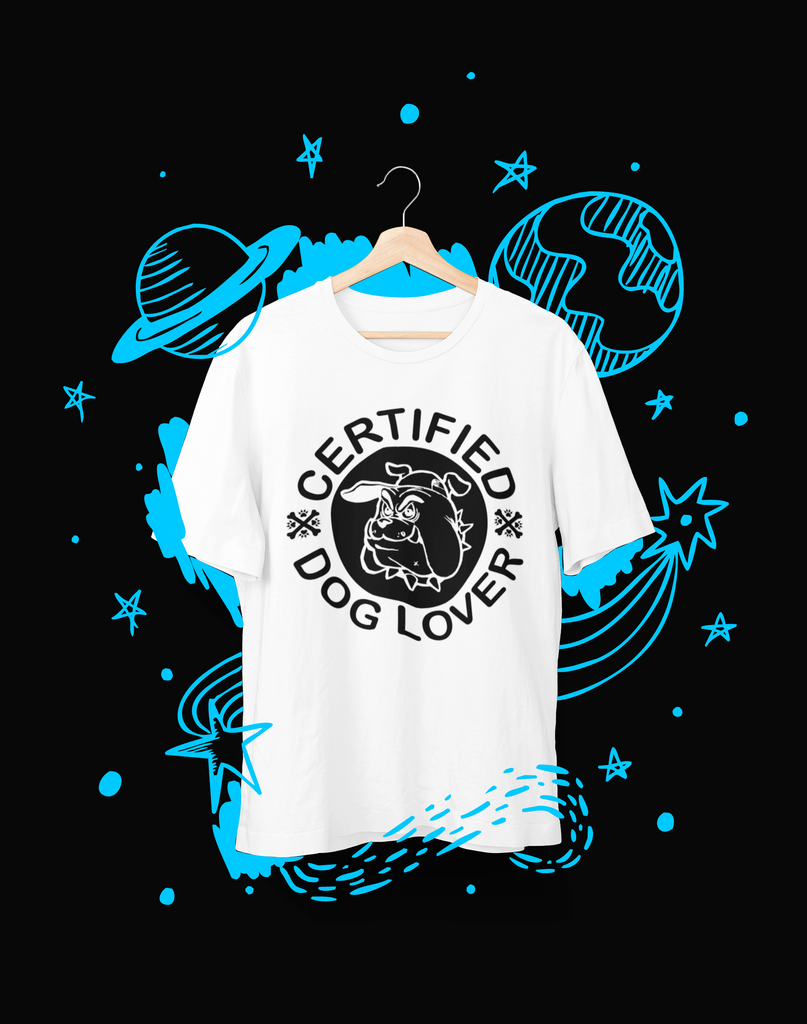 Certified Dog Lover - T-Shirt - Shirto.nl
