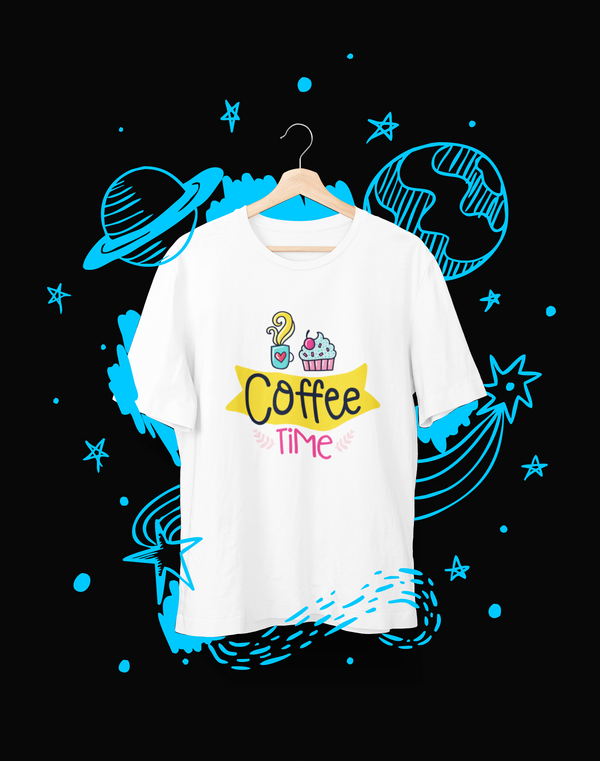 Coffee Time - T-Shirt - Shirto.nl