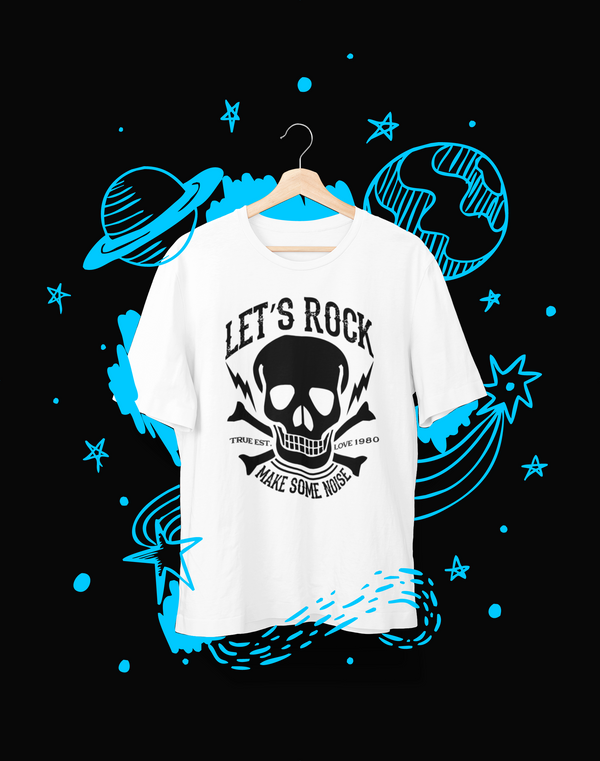 Let's rock - T-Shirt - Shirto.nl