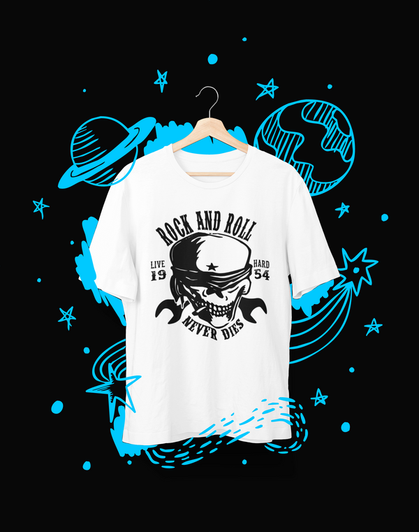 Rock and roll - T-Shirt - Shirto.nl