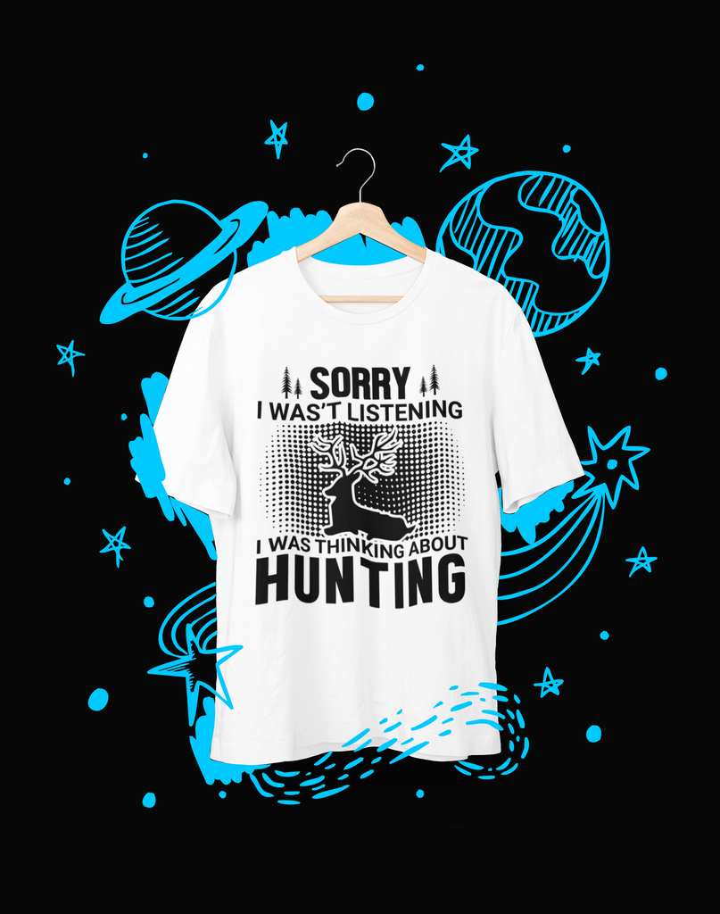 Sorry, I wasn't Listening - T-Shirt - Shirto.nl