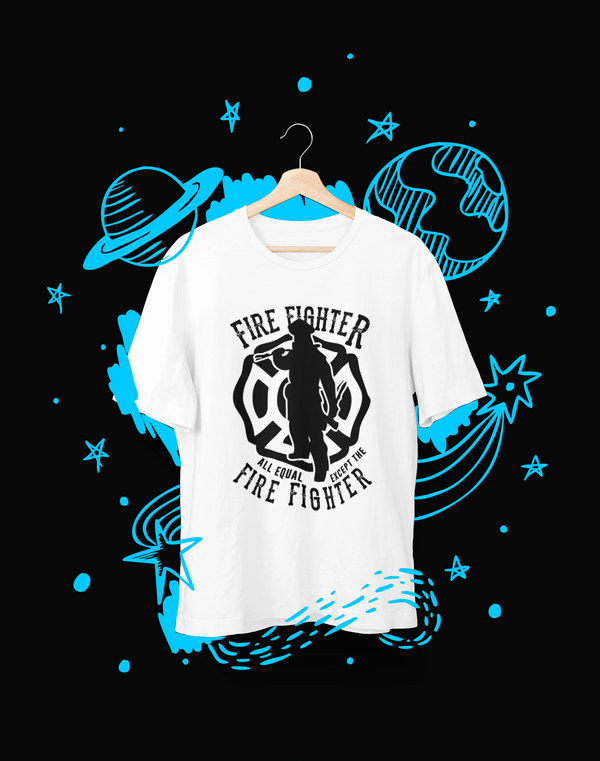 Fire Fighter - T-Shirt - Shirto.nl
